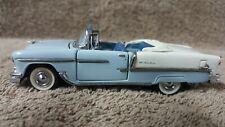 New ListingFranklin Mint 1/43 Scale Die Cast -1955 Chevrolet Belair Convertible Blue