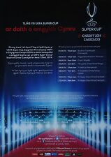Flyer UEFA Supercup 2014 Real Madrid-FC Sevilla