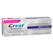 Crest 3D White Brilliance Toothpaste 4.1 Oz with Polishing Complex