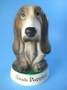 "Vintage Hush Puppies Shoes Dog Counter Display Hard Vinyl 7.5"""
