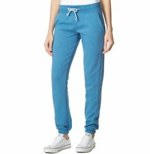 Brook haven Womens Blue White Candy Jogger Track Pants