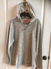 Men's Union Bay Long Sleeve Gray Pullover Hooded Sweatshirt – Size M