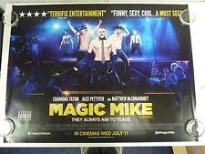 Magic Mike Channing Tatum Comedy Original Film Movie Poster Quad 76x102cm