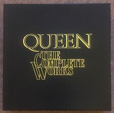 QUEEN / THE COMPLETE WORKS - QB1 - VINYL LP REMASTERED BOXSET - NEAR MINT