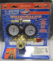Uniweld RHP400 Nitrogen Regulator with 0-400 PSI Delivery Pressure 245-03P BRASS
