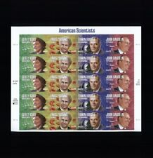 US Scott #4224-4227 American Scientists 2007 Full Mint Sheet 20 41cent Stamps