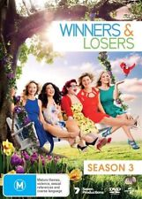 Winners And Losers Season 3 Three Third DVD NEW Region 2 and 4