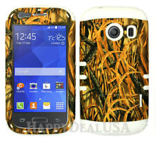 For Samsung Galaxy Ace Style S765c KoolKase Hybrid Cover Case - Camo Mossy 11