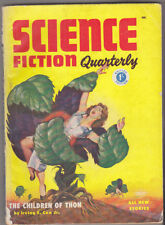 C1 SCIENCE FICTION QUARTERLY # 7 1954 UK BRE SF Pulp LUROS Robert YOUNG MacLEAN