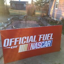 "NASCAR Sunoco 72"" Gas  Panel Sign Car Racing Automotive"