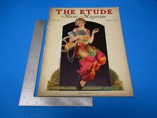 Etude Music Magazine June 1933 Vol.LI #6 Clarence Lucas Piano Lessons  L261