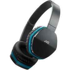 JVC HASBT5 Stylish & Comfortable Wireless Lightweight Bluetooth Headphones Blue