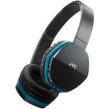 JVC HASBT5 Stylish & Comfortable Wireless Lightweight Bluetooth Headphones Blue
