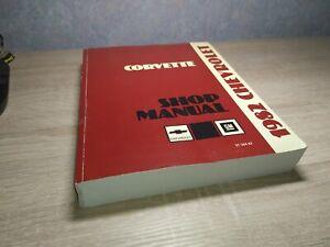 Chevrolet Corvette 1982 - Shop Manual
