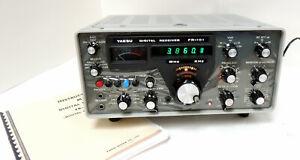 YAESU  MODEL   FR-101   DIGITAL   SSB/CW/AM   HAM   AND  SHORTWAVE   RECEIVER