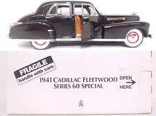 Danbury Mint Fleetwood Series 60 Special 1941 Cadillac 4-Door Sedan Vehicle Read