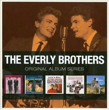 Original Album Series (It's Everly Time/A Date With The Everly Brothers/Rock 'N' Soul/Two Yanks In England/Roots) [Box] by The Everly Brothers (CD, Aug-2010, 5 Discs, WB Records)