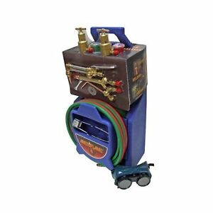Ameriflame TI350 Medium/Heavy Duty Portable Welding/Cutting/Brazing Outfit wi...