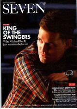 Michael Buble on Magazine Cover April 2013