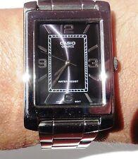 Gents Casio Quartz Bracelet Watch, New With Tags, Near Mint Condition, Working