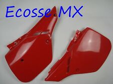 Honda CR125 CR500 1987-1988 UFO Side Panels RED 2604 061 Blood Red