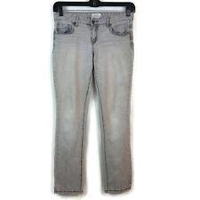 Aeropostale Women's Jeans  Size:7/8 Light Wash Grey Pants reg Bayla Skinny