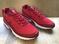 RARE! 2016 - Nike Air Max Men's Running Shoes Trainers Red UK 10 EUR 45 VGC!