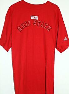 Ohio State Buckeyes Classic Arch Logo Men's Large T Shirt NWT adidas Soft!