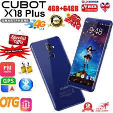 """Cubot X18 Plus 4G Smartphone 5.99"""" Android 8.0 Octa core 4+64GB 16MP Dual Camera"""