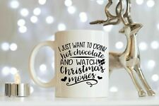 Christmas Hot Chocolate Mug, Hot Chocolate Gifts, Christmas Mug, Holiday Mug