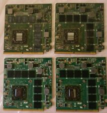 ASUS G73JH ATI HD5870 1GB VideoCard 60-NY8VG1000 lot of 4 For Parts not working.