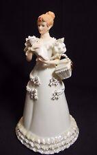 IOB  2007 LENOX CHRISTMAS BUNDLE OF LOVE FIGURINE ~VICTORIAN LADY W/CAT