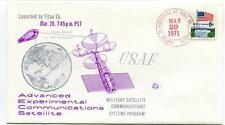 1971 USAF Advanced Experimental Communications Satellite Military Satellite USA