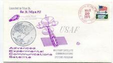 1971 USAF Advanced Experimental Communications Satellite Military Satellite USA