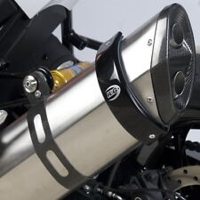 BMW F650GS 2008 R&G Racing Exhaust Protector / Can Cover EP0009BK Black