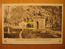 1924 AK Pantelimon Gebetshäuschen östl. Bukarest București Ilfov Județ România