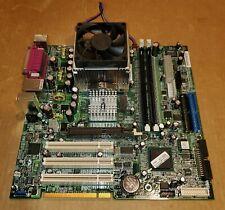 Pentium 4 Socket 478 845E Micro-ATX Motherboard + 2.66 GHZ CPU/FAN