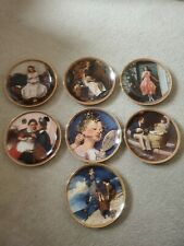 Knowles Collector Plates (7) - Norman Rockwell - Mint Condition