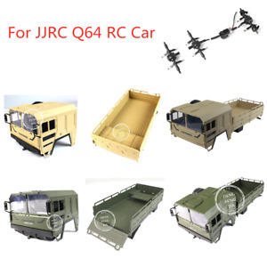 JJRC Q64 RC Car Spare Parts Body Cover/Rear Open-Topped Container/Axle Shaft