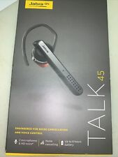 Jabra Talk 45 Bluetooth Headset Noise Cancelling & Voice Control - D1940