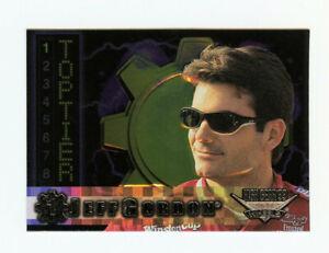 Jeff Gordon 1999 99 Wheels High Gear Top Tier All Embossed Foil Inert Card 1:400