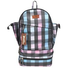 GLOBETROTTER CLEAN PLANET BACKPACK PURPLE CHECK