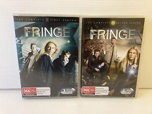 FRINGE - SERIES 1 And 2 Season DVD Region 4 PAL Free Postage Aus Seller!