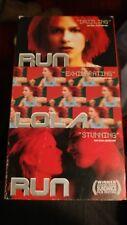 Run Lola Run (Vhs, 1999) Dubbed English original French language