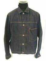 LEVIS 70511 Mens Casual Vintage Denim Dark Wash Jeans Trucker Jacket Sz XL 7051