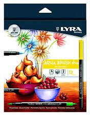Lyra AQUA BRUSH DUO Double terminé Artist Brush Feutres-Lot de 12 stylos