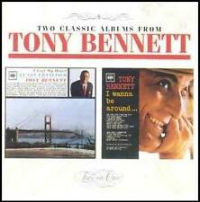 CD Tony Bennett `I Left My Heart/I Wanna Be` Neu/New/OVP Rare