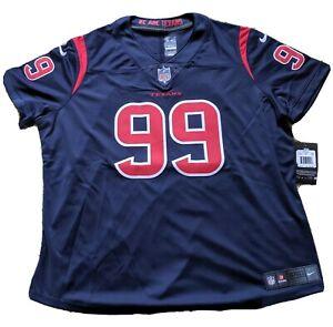 Women's Nike Color Rush Football Jersey Houston Texans JJ Watt #99 Size XXL NWT