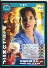 Doctor Who Monster Invasion Extreme Card #214 Rita