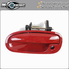 Exterior Door Handle Front Left for 1996-2000 Honda Civic R81 Milano Red B4059